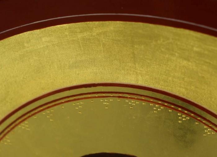 Theotokos Supplication Hand-Painted Byzantine Icon Handmade Gold Leaf Engraving