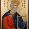Prophet King David Hand Painted Orthodox Icon