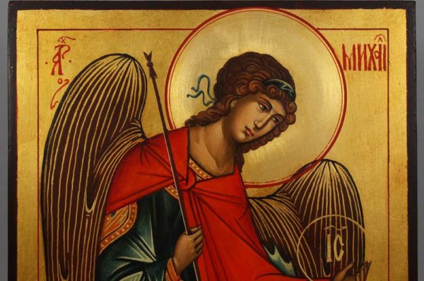 St Archangel Michael (full body) Hand-Painted Icon