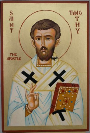 St Timothy the Apostle Hand Painted Icon