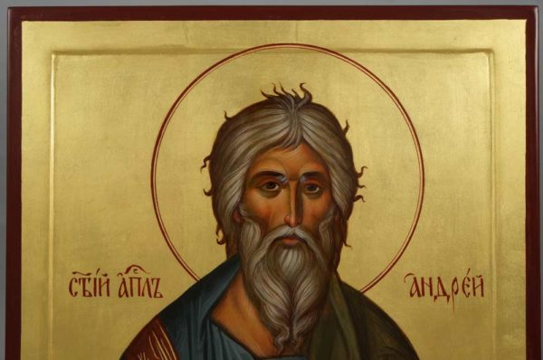 St Andrew the Apostle Hand-Painted Orthodox Icon