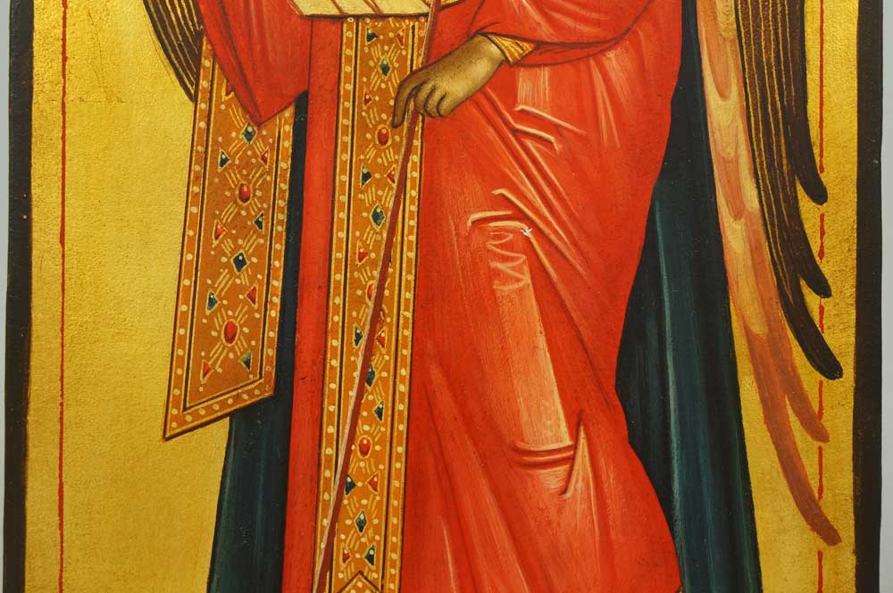 Gabriel the Archangel Hand-Painted Byzantine Icon