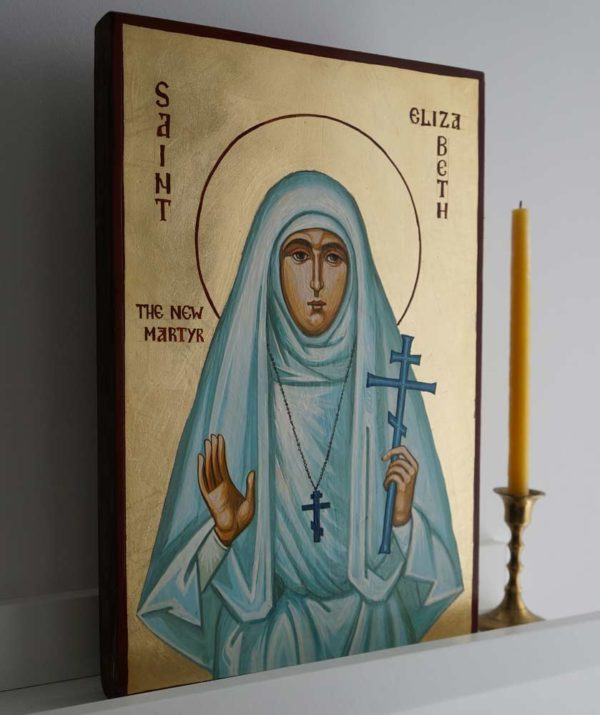 St Elizabeth the New Martyr Hand-Painted Orthodox Icon