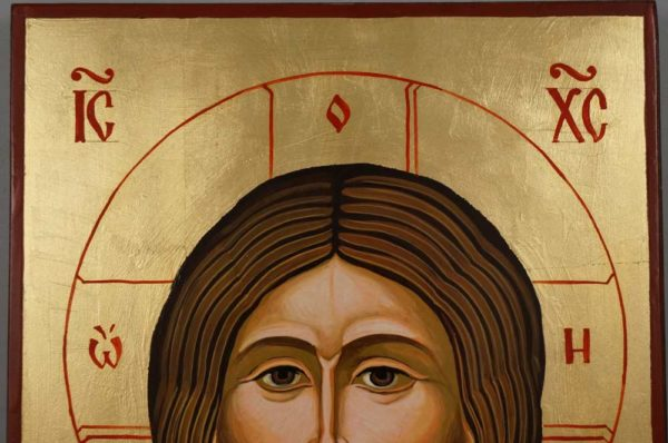 Jesus Christ the Son of God Hand Painted Orthodox Icon