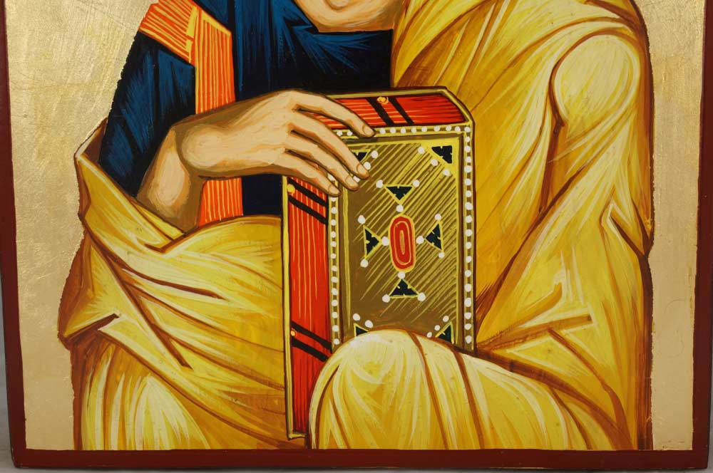 St John the Theologian Hand-Painted Byzantine Icon