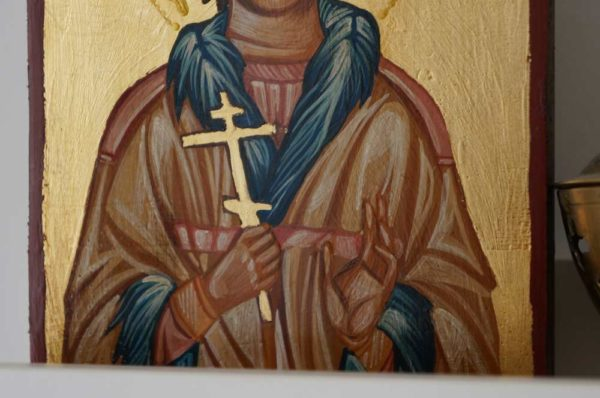 St Peter the Aleut Hand-Painted Orthodox Icon