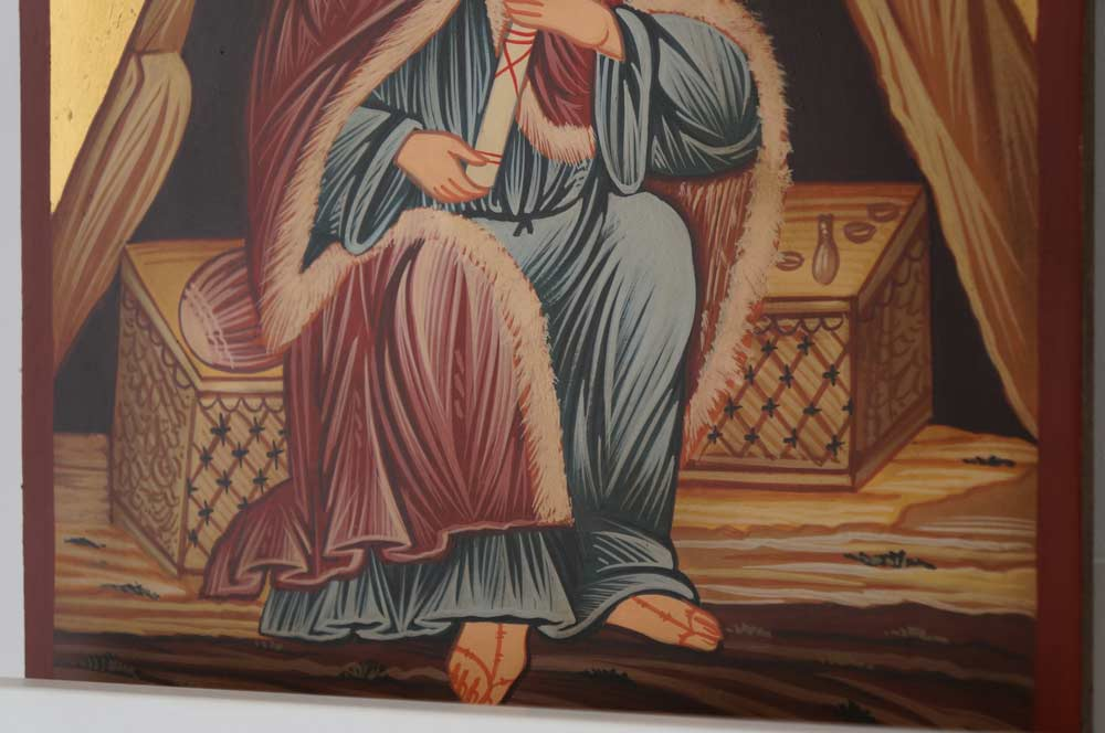 Prophet Elias Hand-Painted Orthodox Icon