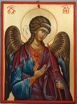 St Archangel Michael (14th c. Hilandar) Hand-Painted Byzantine Icon