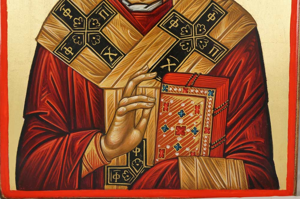 Saint Nicholas Hand-Painted Orthodox Icon