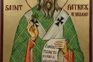 St Patrick Scroll reads