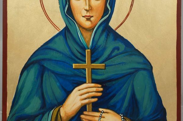 St Sophia Mother of Orphans Hand-Painted Orthodox Icon