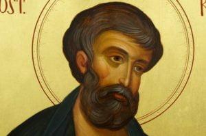 Apostle Mark Evangelist Hand-Painted Byzantine Icon