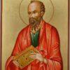 Saint Paul the Apostle Large Icon Hand Painted Byzantine Orthodox