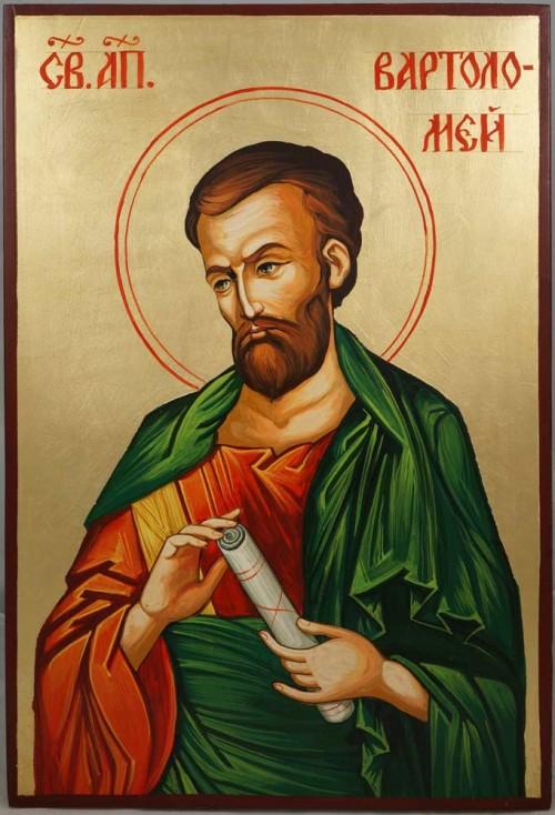 Saint Bartholomew the Apostle Hand-Painted Byzantine Icon