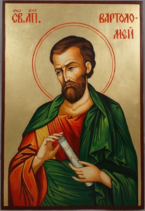 Saint St Apostle Bartholomew Hand Painted Byzantine Icon