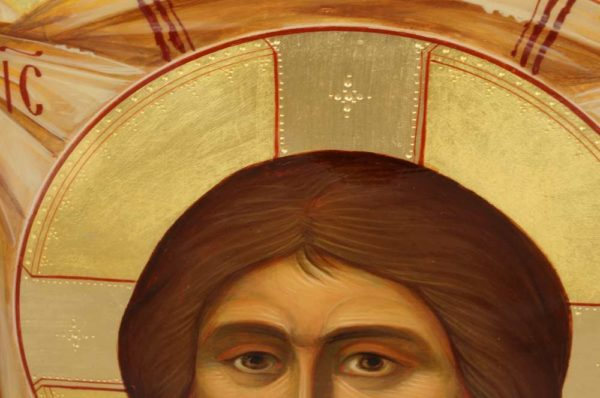 The Holy Face - Ubrus Mandylion Hand-Painted Russian Orthodox Icon