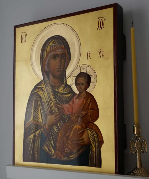 Mother of God Hodegetria The Guide Hand-Painted Byzantine Icon