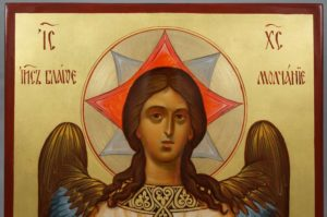 Christ Holy Silence Spas Blagoe Molchanie Hand-Painted Russian Icon