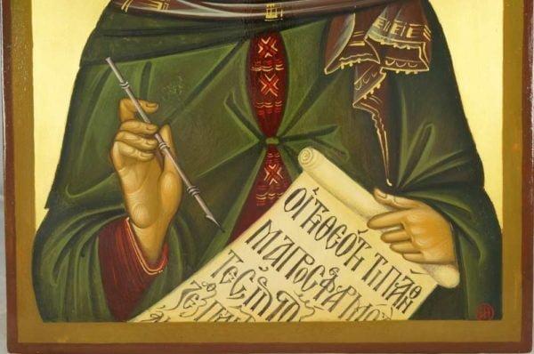 Saint John of Damascene Hand-Painted Byzantine Icon