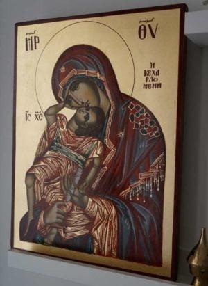 Theotokos Pelagonitissa Hand-Painted Greek Orthodox Icon