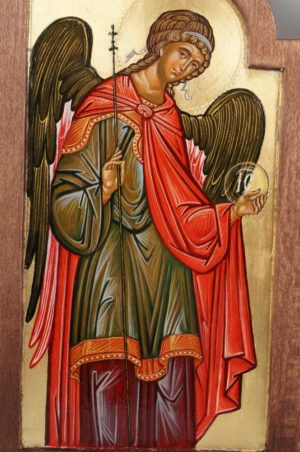 St Archangel Michael Hand-Painted Triptych