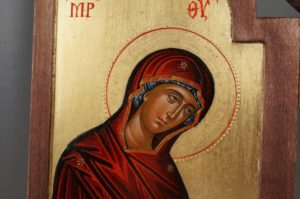 Theotokos Hands Raised in Supplication