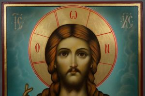 Christ Pantocrator Hand-Painted Orthodox Icon