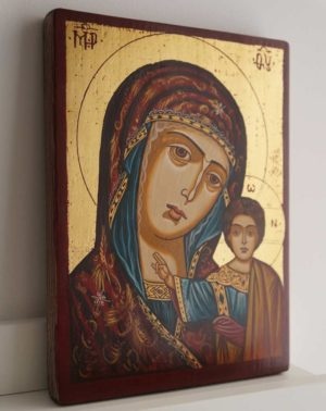 Kazanskaya Mother of God Hand-Painted Orthodox Icon