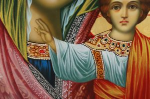 Kazanskaya Mother of God (halo relief) Hand-Painted Orthodox Icon