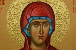 St Mary Magdalene Hand-Painted Byzantine Icon