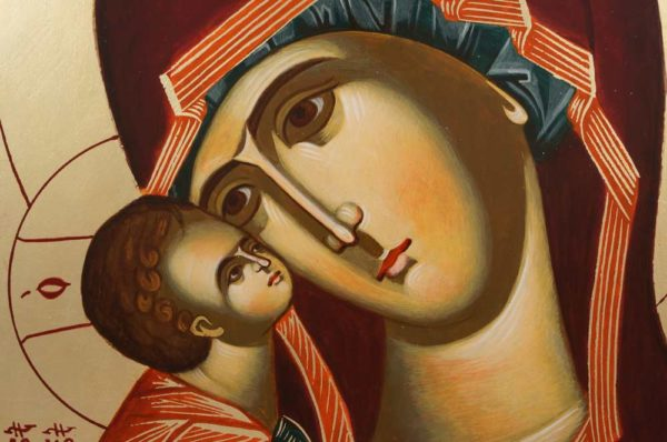 Mother of God of the Don Donskaya Hand-Painted Orthodox Icon