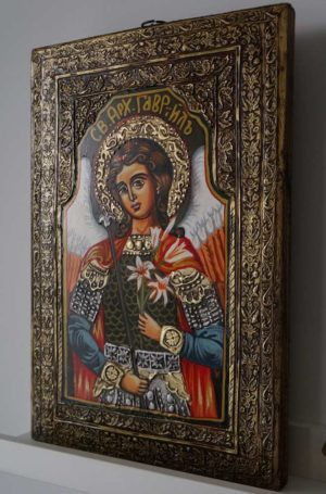St Gabriel the Archangel Hand-Painted Orthodox Icon