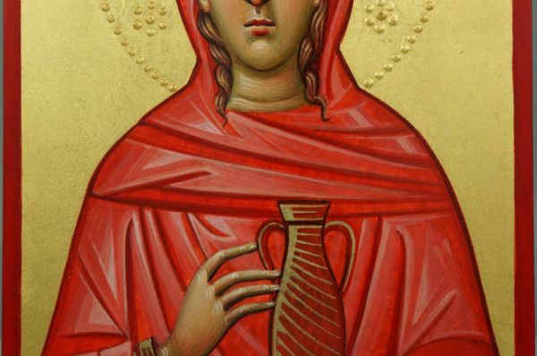 St Mary Magdalene Hand-Painted Orthodox Icon