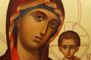 Kazanskaya Mother of God Hand-Painted Russian Icon