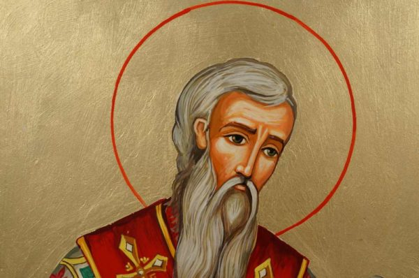 Saint John the Merciful Hand-Painted Orthodox Icon