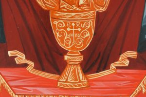 Virgin of The Inexhaustible Cup Hand-Painted Orthodox Icon