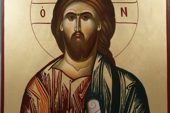 Jesus Christ Almighty Hand-Painted Orthodox Icon