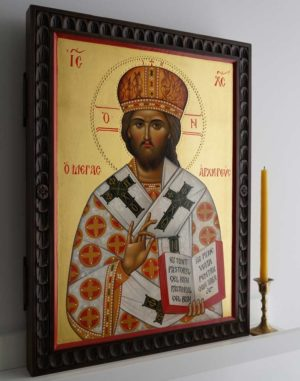 Jesus Christ the Great High Priest Hand-Painted Orthodox Icon
