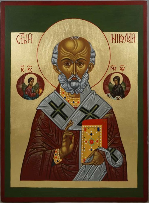 St Nicholas the Miracle Worker Hand-Painted Icon
