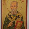 St Athanasius of Alexandria small Icon Hand Painted Byzantine Orthodox