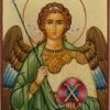 Gabriel the Archangel Hand Painted Orthodox Icon on Wood