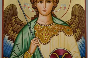Gabriel the Archangel Icon Hand Painted Byzantine Orthodox