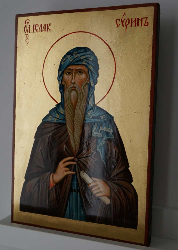 Saint Isaac the Syrian Hand Painted Orthodox Icon