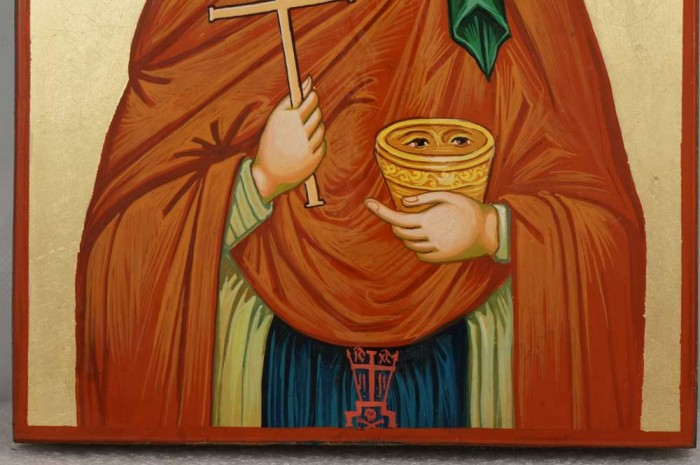 Saint Paraskevi Petka Hand Painted Byzantine Orthodox Icon