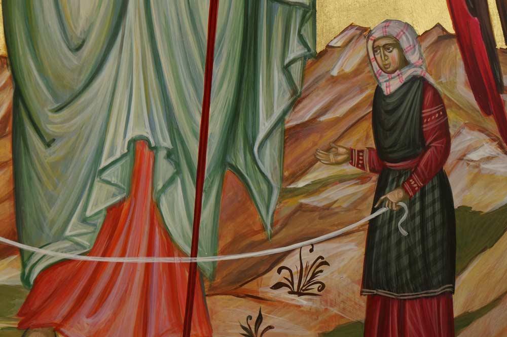 Saint Archangel Raphael Hand-Painted Orthodox Icon