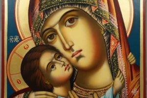 Virgin of Tenderness (Rila Monastery) Hand-Painted Icon