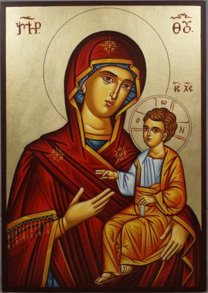 Theotokos Hodegetria (Guide) Hand-Painted Icon