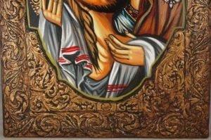 Theotokos and Jesus Christ Hand-Painted Orthodox Icon