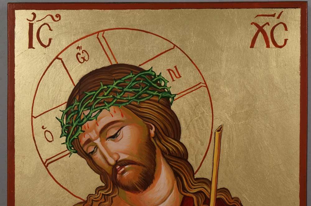Christ the Bridegroom Hand Painted Orthodox Icon on Wood