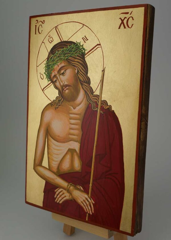 Christ the Bridegroom Icon Hand Painted Orthodox Byzantine
